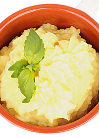 Faux Mashed Potatoes