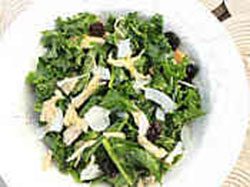 Warm Kale and Curried Chicken Salad