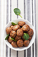 Meat and Veggie Meatballs