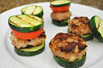 Turkey Sliders w/ Zucchini buns