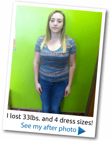 lost dress size